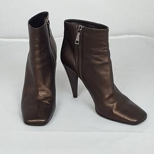 Prada Ankle Boots Bronze/Brown EUR 37 = US 7